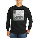 Atomic Bomb (No Text) Long Sleeve Dark T-Shirt