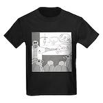 Atomic Bomb (No Text) Kids Dark T-Shirt