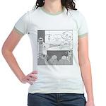 Atomic Bomb (No Text) Jr. Ringer T-Shirt