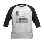 Atomic Bomb (No Text) Kids Baseball Jersey