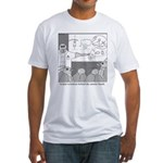 Atomic Bomb Fitted T-Shirt