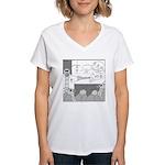 Atomic Bomb Women's V-Neck T-Shirt