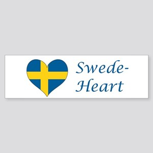 Swede-Heart Sticker (Bumper)