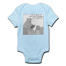 Bear Story Time (No Text) Infant Bodysuit