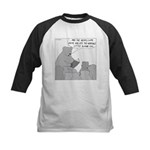 Bear Story Time (No Text) Kids Baseball Jersey