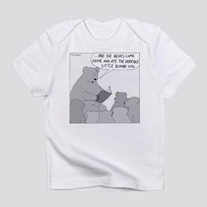 Bear Story Time (No Text) Infant T-Shirt