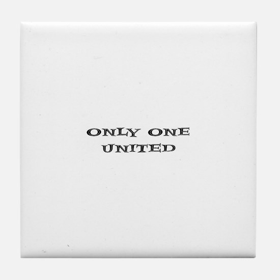 Only One United Tile Coaster