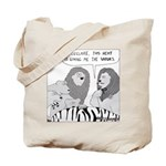 Dandy Lion (No Text) Tote Bag