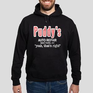 Puddy's Auto Repair Seinfield Hoodie (dark)