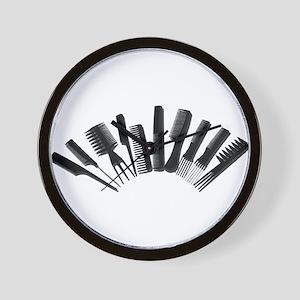 Array Combs Wall Clock