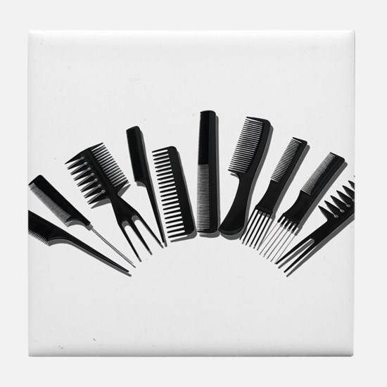 Array Combs Tile Coaster