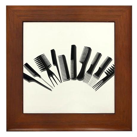 Array Combs Framed Tile