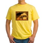 Don't Give Me Attitude! Yellow T-Shirt