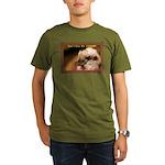 Don't Give Me Attitude! Organic Men's T-Shirt (dar