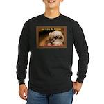 Don't Give Me Attitude! Long Sleeve Dark T-Shirt