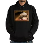 Don't Give Me Attitude! Hoodie (dark)