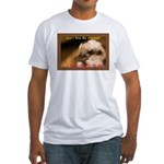 Don't Give Me Attitude! Fitted T-Shirt