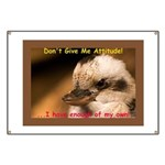 Don't Give Me Attitude! Banner