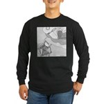 When Ants Dream Long Sleeve Dark T-Shirt