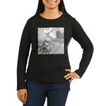 When Ants Dream Women's Long Sleeve Dark T-Shirt