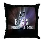 AJ Epyx Productions Throw Pillow