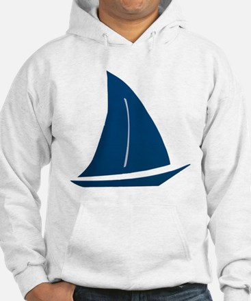 Hooded Sailboat Sweatshirt