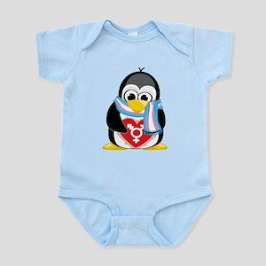 Transgender Penguin Infant Bodysuit