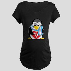 Transgender Penguin Maternity Dark T-Shirt