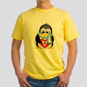 Transgender Penguin Yellow T-Shirt