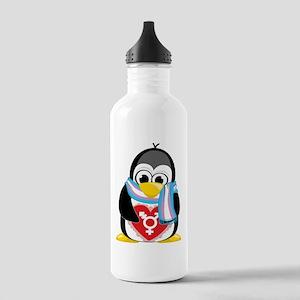 Transgender Penguin Stainless Water Bottle 1.0L