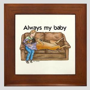 CF Always my baby Framed Tile