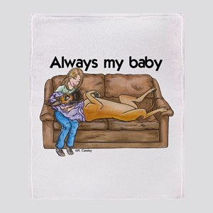CF Always my baby Throw Blanket