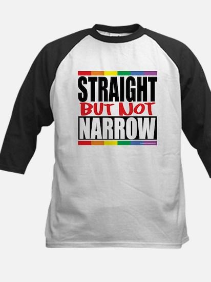 Straight But Not Narrow Kids Baseball Jersey