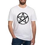 Pentagram Black Tee Fitted T-Shirt