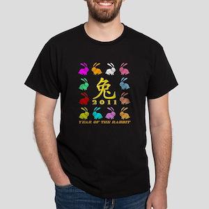 Year of the Rabbit Dark T-Shirt