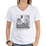 Franklin's Party Women's V-Neck T-Shirt