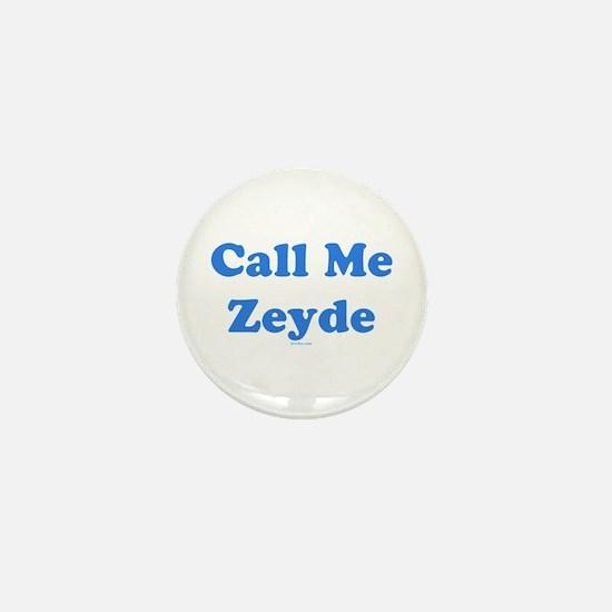 Call Me Zeyde Jewish Mini Button