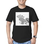 Save the Manatee (No Text) Men's Fitted T-Shirt (d