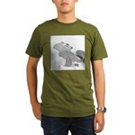 Save the Manatee (No Text) Organic Men's T-Shirt (