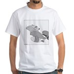Save the Manatee (No Text) White T-Shirt
