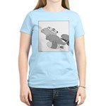 Save the Manatee (No Text) Women's Light T-Shirt
