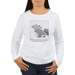 Save the Manatee Women's Long Sleeve T-Shirt