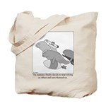 Save the Manatee Tote Bag