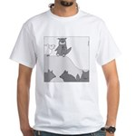 Sheep in Wolf's Clothing (No Text) White T-Shirt