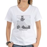 Sheep in Wolf's Clothing Women's V-Neck T-Shirt