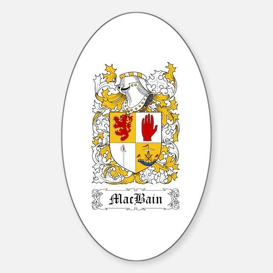 MacBain Sticker (Oval)