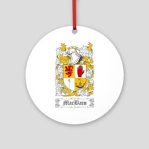 MacBain Ornament (Round)