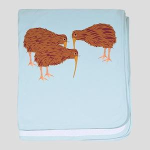 Kiwis baby blanket