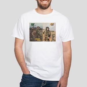 NVA Grenzer - Panzer White T-Shirt