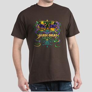 Mardi Gras Muse Dark T-Shirt